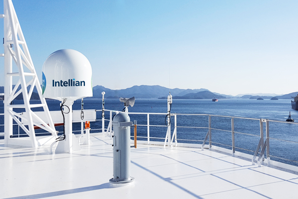 Intellian v100NX with Satcom Global